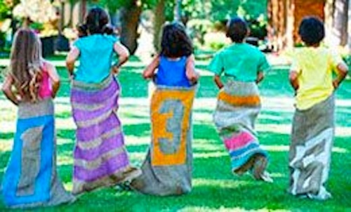Kid's Sack Race