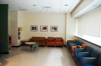 The PICU Family Lounge's current condition