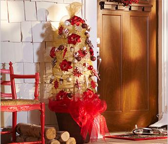 Meg10 Tomato Cage Christmas Tree