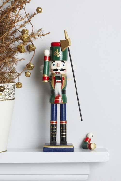 Meg5 Nutcracker on mantel